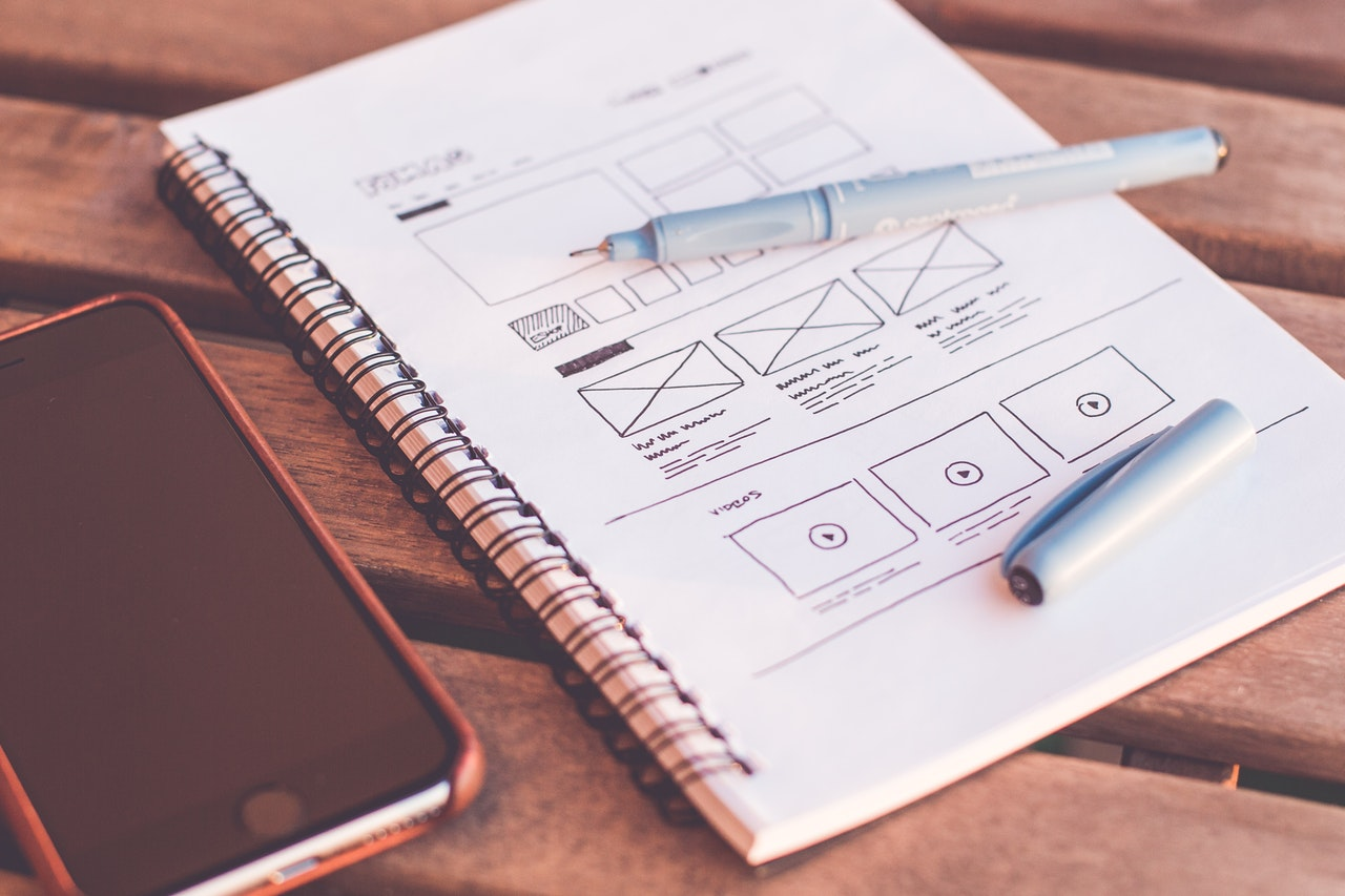 UI/UX Wireframe