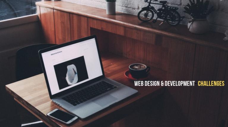 Web design challenges