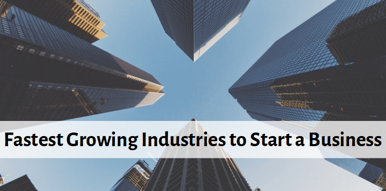 best industries to start business